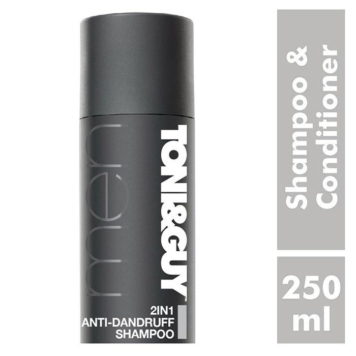 Buy Toni & Guy Men 2 in 1 Anti Dandruff Shampoo & Conditioner (250 ml)-Purplle