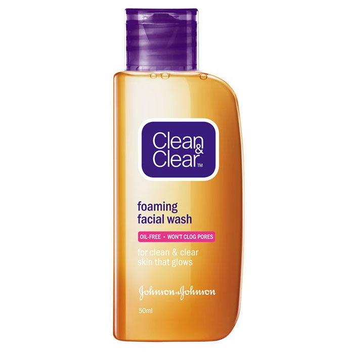 Buy Clean & Clear Foaming Face Wash (50 ml)-Purplle