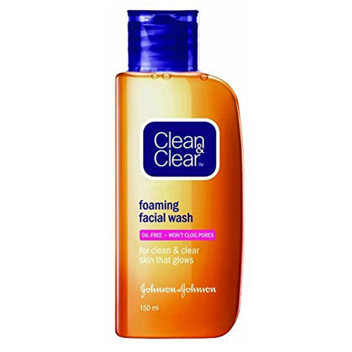 Buy Clean & Clear Foaming Face Wash (150 ml)-Purplle