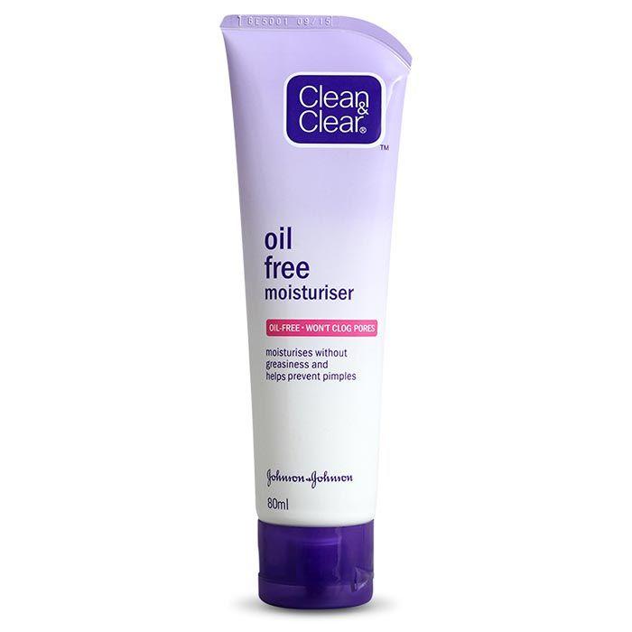 Buy Clean & Clear Oil Free Moisturiser (80 ml)-Purplle