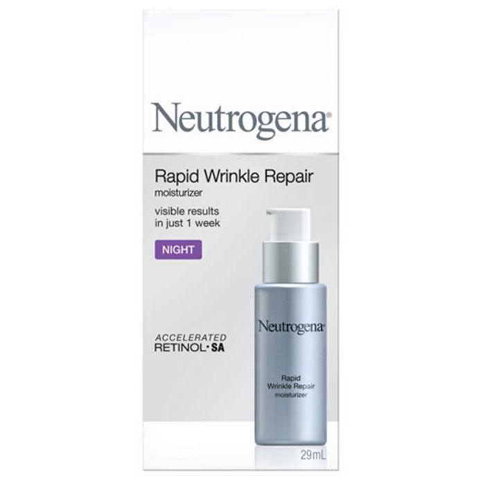 Buy Neutrogena Rapid Wrinkle Repair Night Moisturizer (29 ml)-Purplle