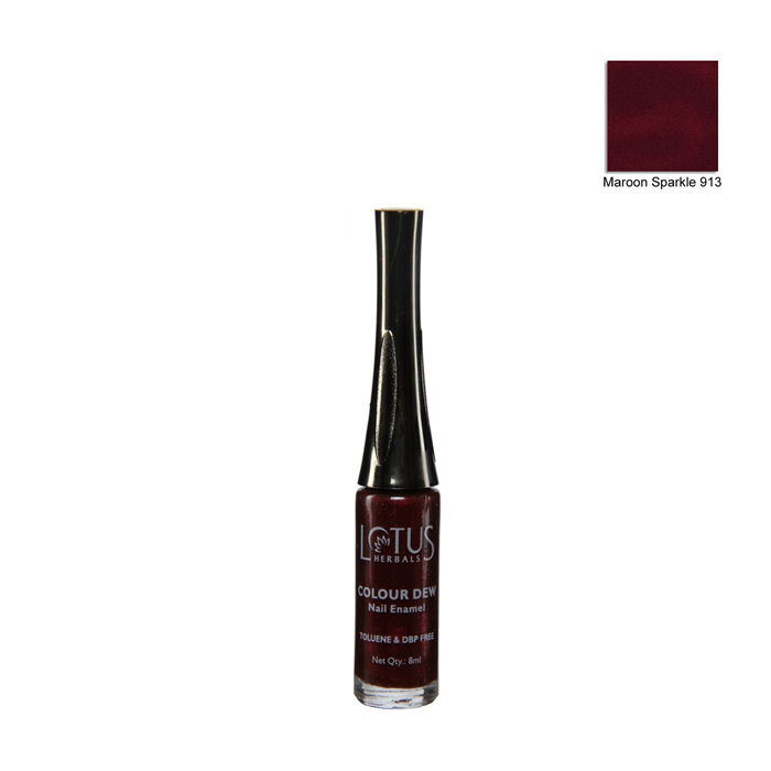 Buy Lotus Herbals Nail Enamel Bronze Rain Shade No. 914 (7 ml)-Purplle