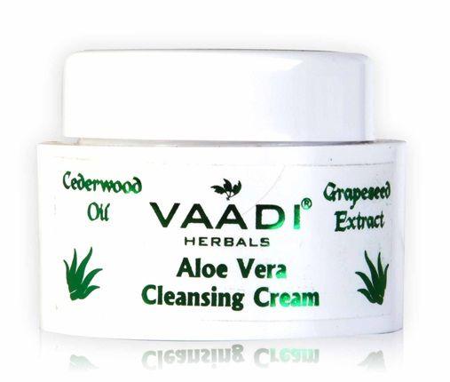 Buy Vaadi Herbals Anti Acne Aloe Vera Cleansing Cream (15 g)-Purplle