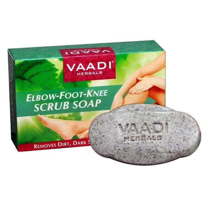 Buy Vaadi Herbals Elbow Foot Knee Scrub Soap (75 g)-Purplle