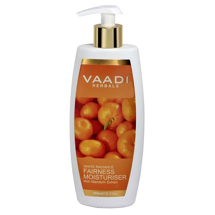 Buy Vaadi Herbals White Radiance Fairness Moisturiser With Mandarin Extract (350 ml)-Purplle