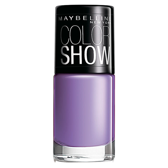 Buy Maybelline Color Show Nail Color Blackcurrant Pop 402 (6 ml)-Purplle