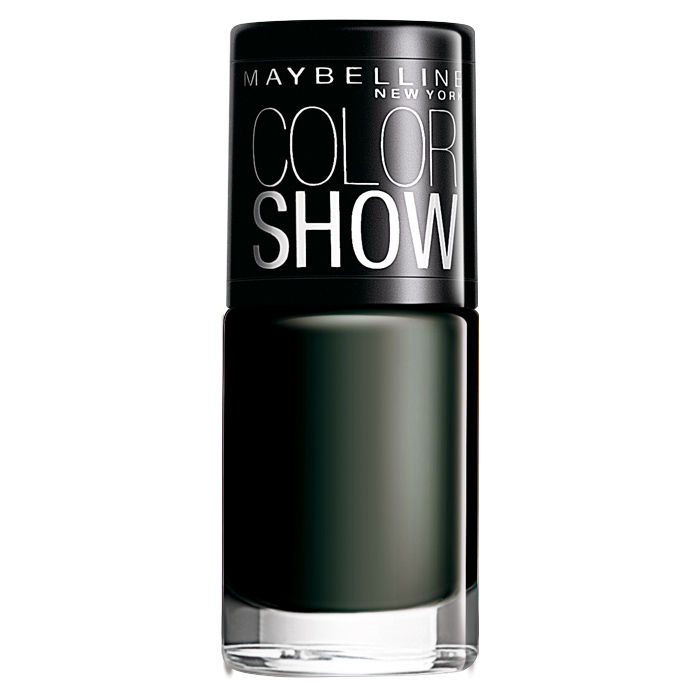 Buy Maybelline New York Color Show Nail Color Blackout 220 (6 ml)-Purplle