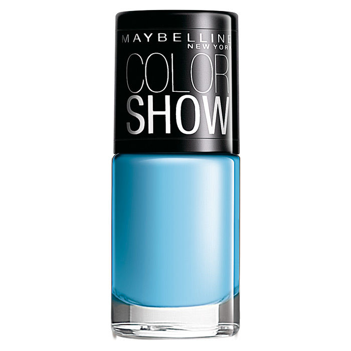 Buy Maybelline Color Show Nail Color Blueberry Ice 403 (6 ml)-Purplle