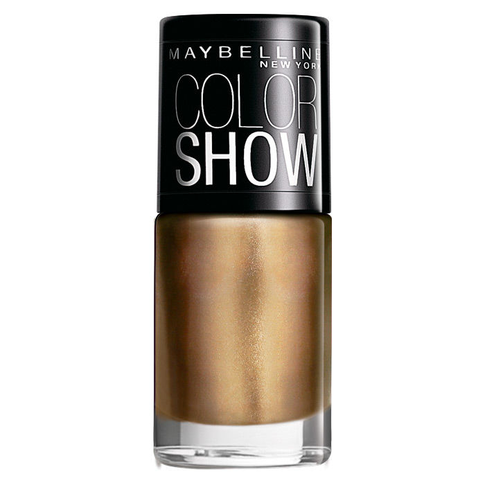 Buy Maybelline New York Color Show Nail Color Bold Gold 008 (6 ml)-Purplle