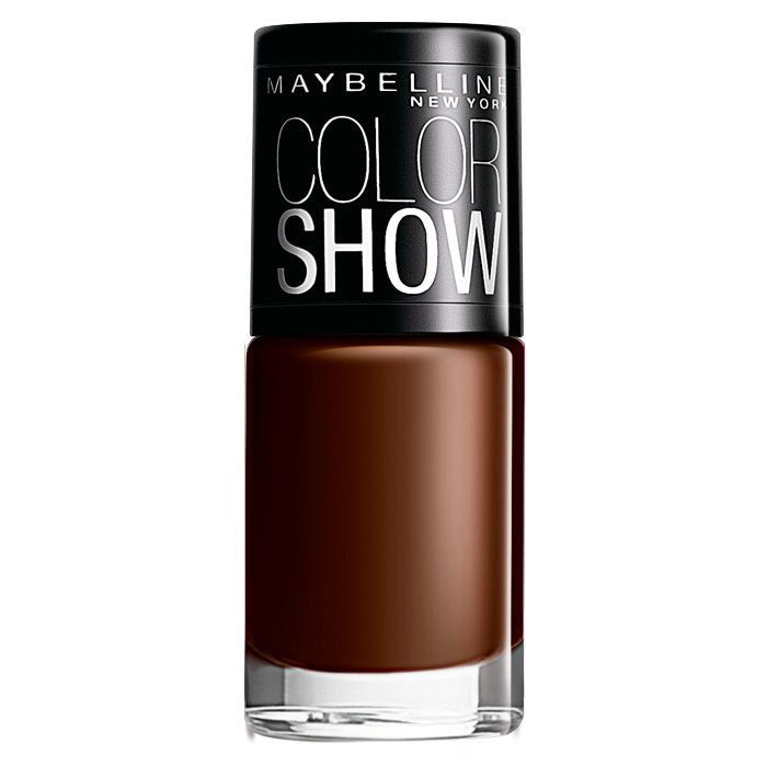 Buy Maybelline Color Show Nail Color Choco Sin 014 (6 ml)-Purplle