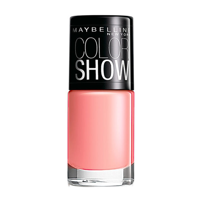 Buy Maybelline New York Color Show Nail Color Coral Craze 211 (6 ml)-Purplle