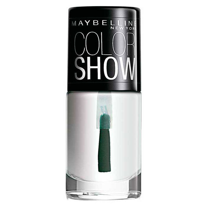 Buy Maybelline New York Color Show Nail Color Crystal Clear 101 (6 ml)-Purplle