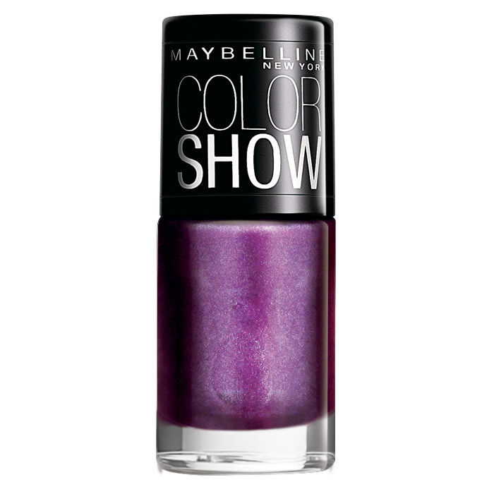 Buy Maybelline Color Show Nail Color Devil Wears Purple 012 (6 ml)-Purplle