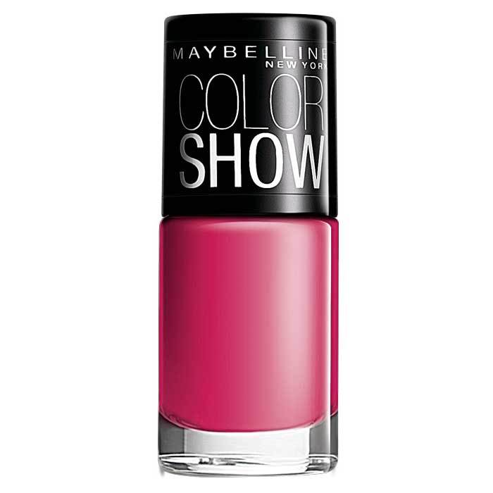 Buy Maybelline New York Color Show Nail Color Fiesty Fuschia 213 (6 ml)-Purplle