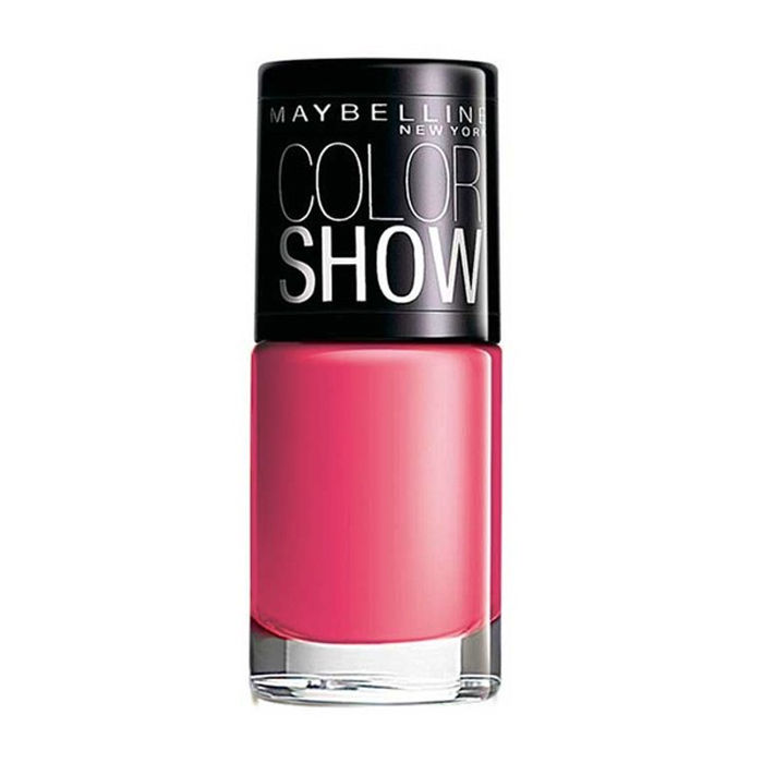 Buy Maybelline New York Color Show Nail Color Hooked-on-Pink 212 (6 ml)-Purplle