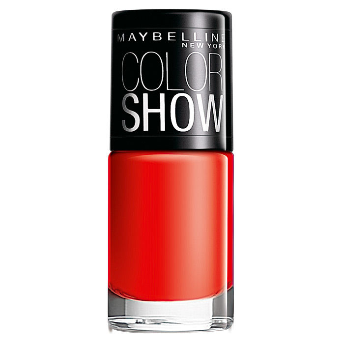 Buy Maybelline New York Color Show Nail Color Keep Up The Flame 215 (6 ml)-Purplle