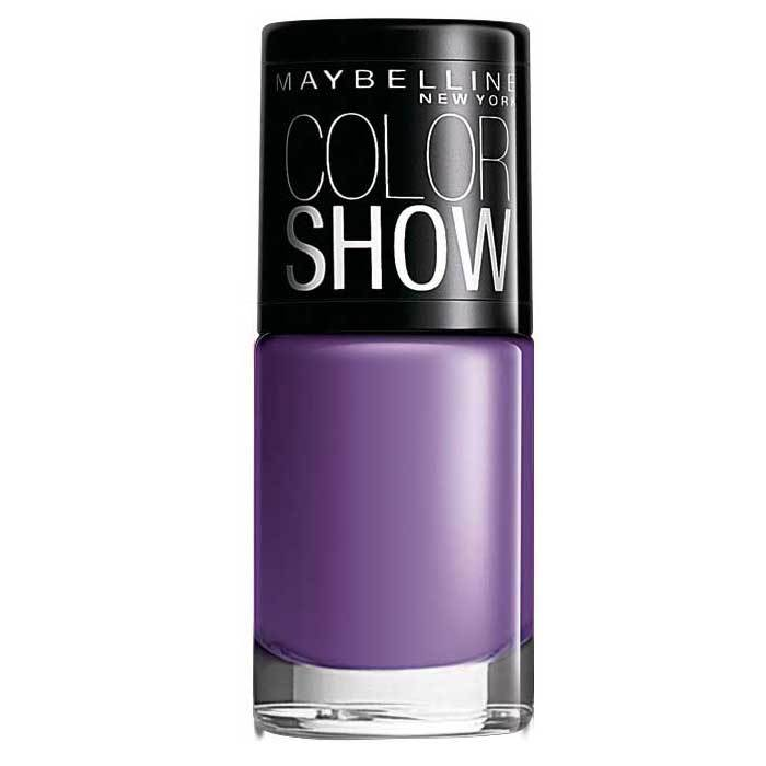 Buy Maybelline New York Color Show Nail Color Lavender Lies 217 (6 ml)-Purplle