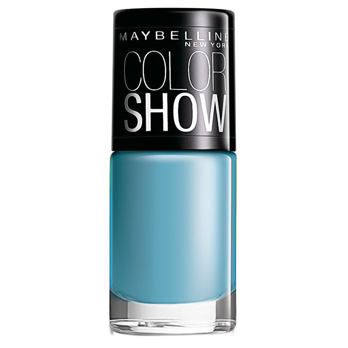 Buy Maybelline Color Show Nail Color Miss-You-Blue 011 (6 ml)-Purplle