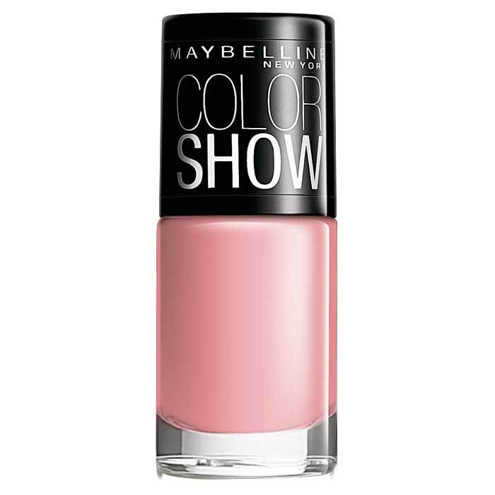 Buy Maybelline New York Color Show Nail Color Pinkalicious 002 (6 ml)-Purplle
