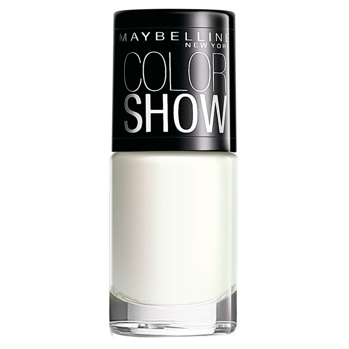 Buy Maybelline New York Color Show Nail Color Porcelain Party 102 (6 ml)-Purplle