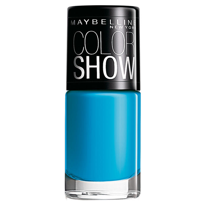 Buy Maybelline Color Show Nail Color Shocking Seas 303 (6 ml)-Purplle