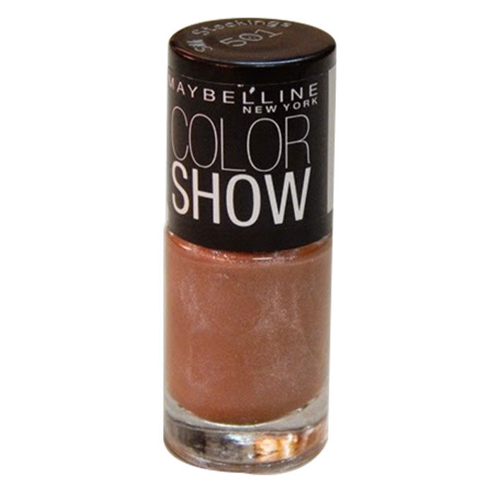 Buy Maybelline New York Color Show Nail Color Silk Stockings 501 (6 ml)-Purplle