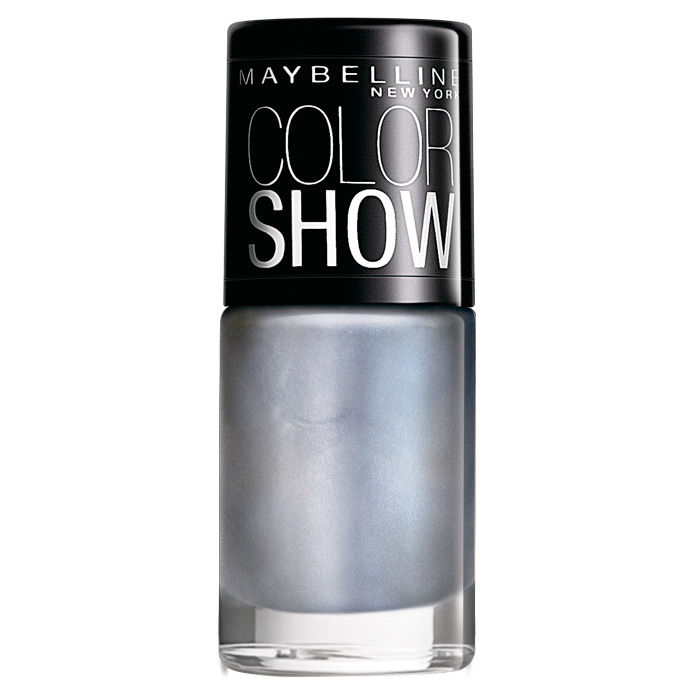 Buy Maybelline New York Color Show Nail Color Silver Linings 007 (6 ml)-Purplle
