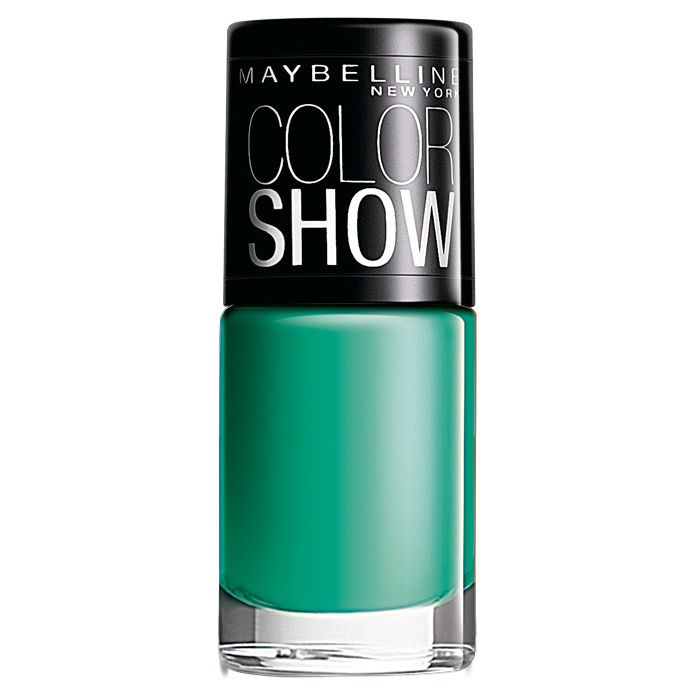 Buy Maybelline Color Show Nail Color Tenacious Teal 301 (6 ml)-Purplle