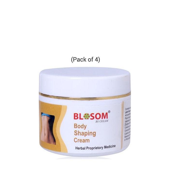 Buy Lasky Herbal Blosom Body Shaping, Slimming & Toning Cream (50 g) (Pack of 4)-Purplle