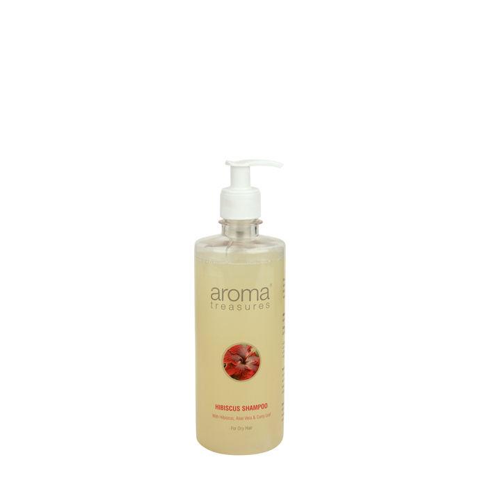 Buy Aroma Treasures Hibiscus Shampoo (500 ml)-Purplle