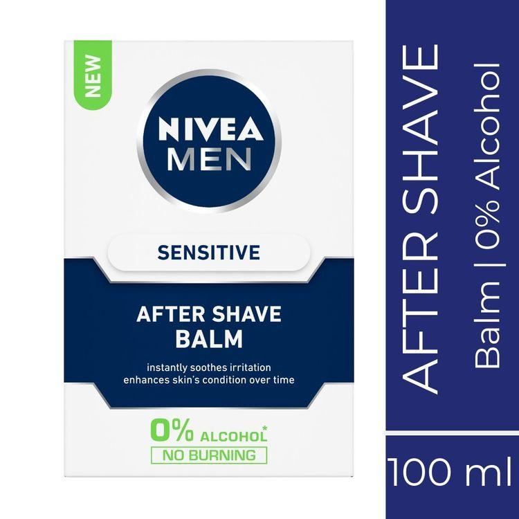 Buy Nivea MEN Shaving, Sensitive After Shave Balm (100 ml)-Purplle