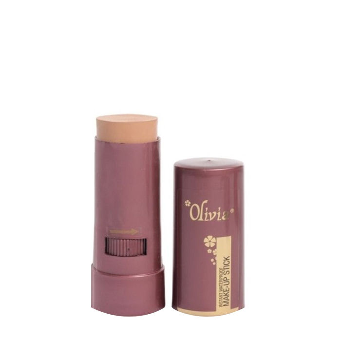 Buy Olivia Instant Waterproof Make Up Stick With SPF 12 Natural Rose 04 (15 g)-Purplle