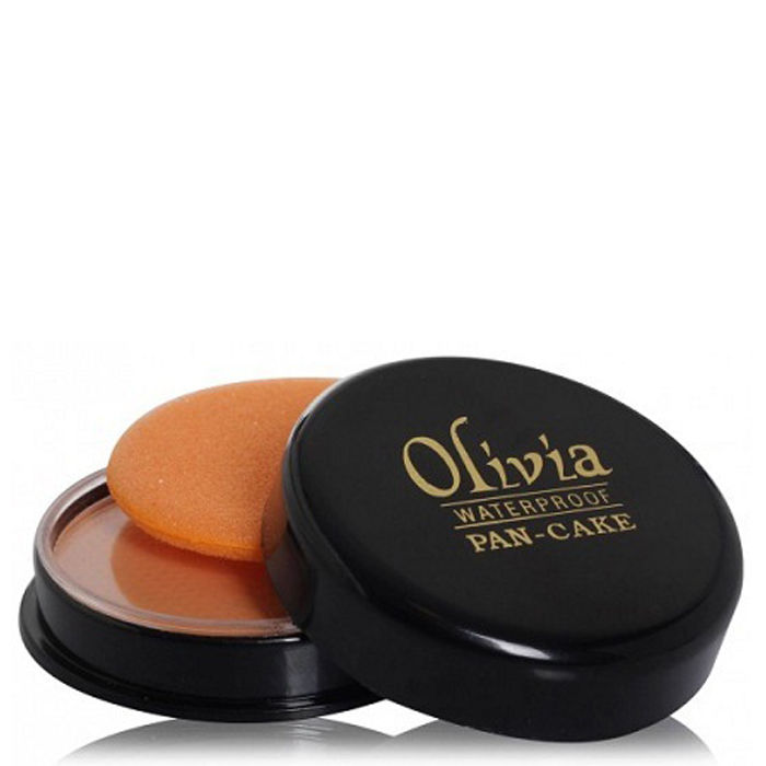 Buy Olivia Waterproof Pan Cake Golden Yellow 21-Purplle