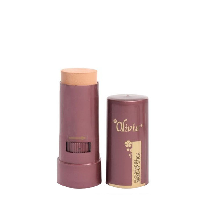 Buy Olivia Instant Waterproof Make Up Stick With SPF 12 Rachelle 01 (15 g)-Purplle