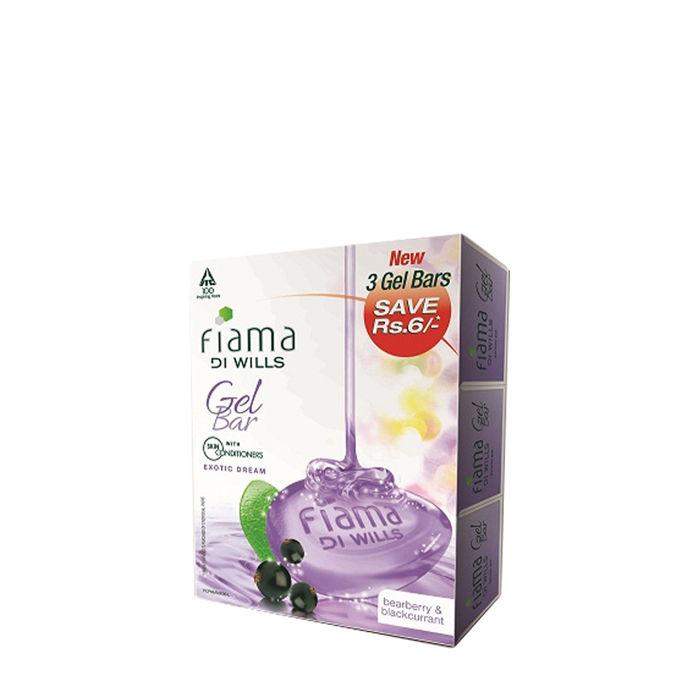 Buy Fiama Di Wills Exotic Dream Bathing Bar (125 g) (Pack of 3)-Purplle