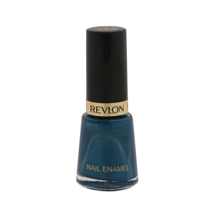 Buy Revlon Nail Enamel - Peacock Blue (8 ml)-Purplle