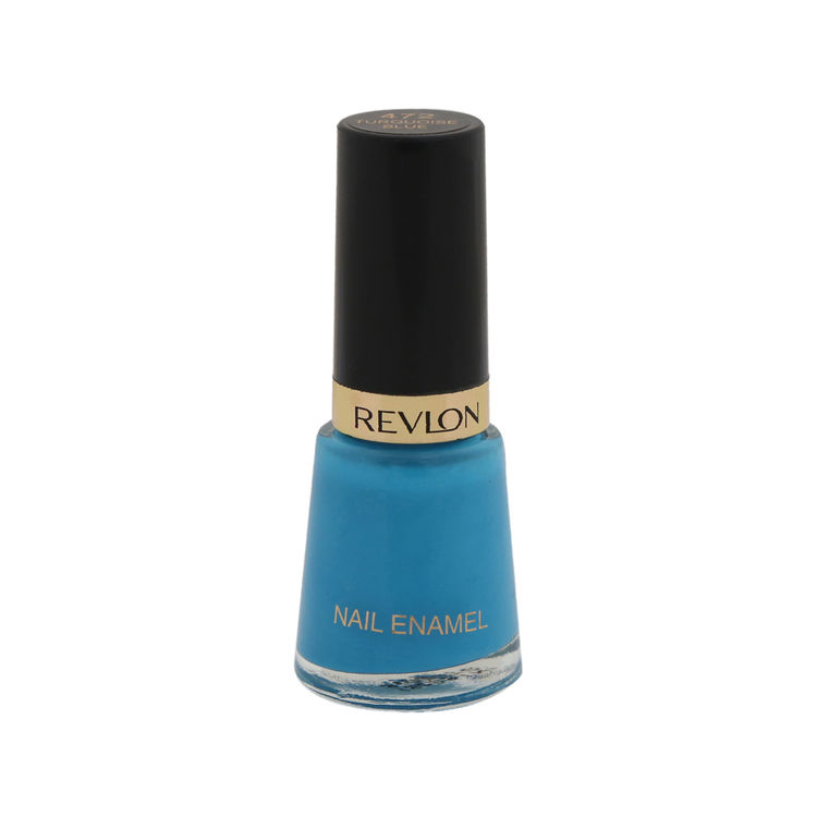 Buy Revlon Nail Enamel - Turquoise Blue (8 ml)-Purplle