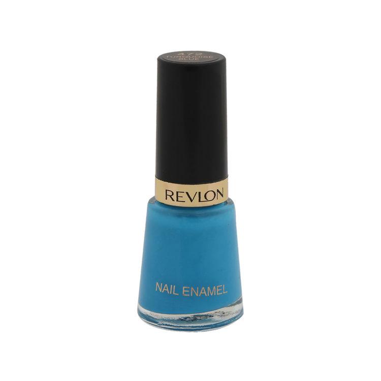 Buy Revlon Nail Enamel - Turquoise Blue (8 ml)-Purplle