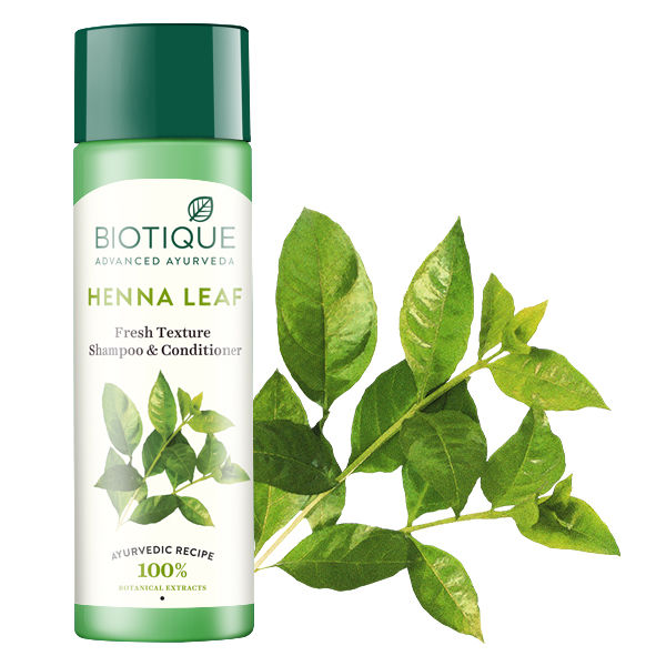Biotique Bio Henna Leaf Fresh Texture Shampoo & Conditioner (120 ml)