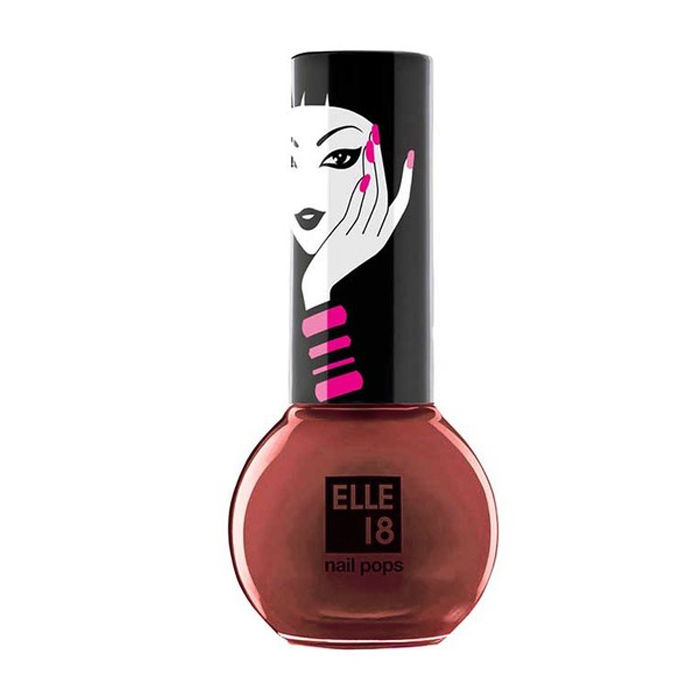 Buy Elle 18 Nail Pops Nail Color Shade 17 (5 ml)-Purplle