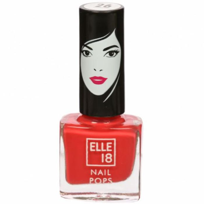 Buy Elle 18 Nail Pops Nail Color - Shade 26 (5 ml)-Purplle