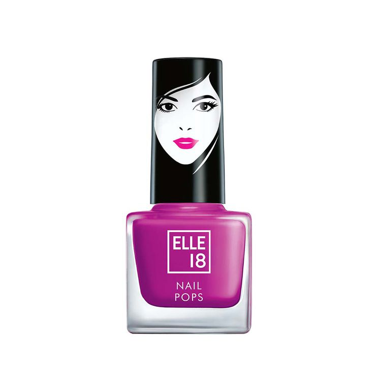 Buy Elle 18 Nail Pops Nail Color - Shade 32 (5 ml)-Purplle
