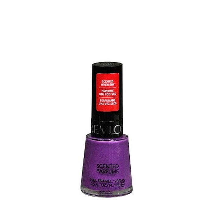 Buy Revlon Scented Nail Enamel Grape Icy 8 ml-Purplle