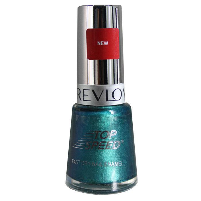 Buy Revlon Top Speed Nail Enamel Ocean 8 ml-Purplle
