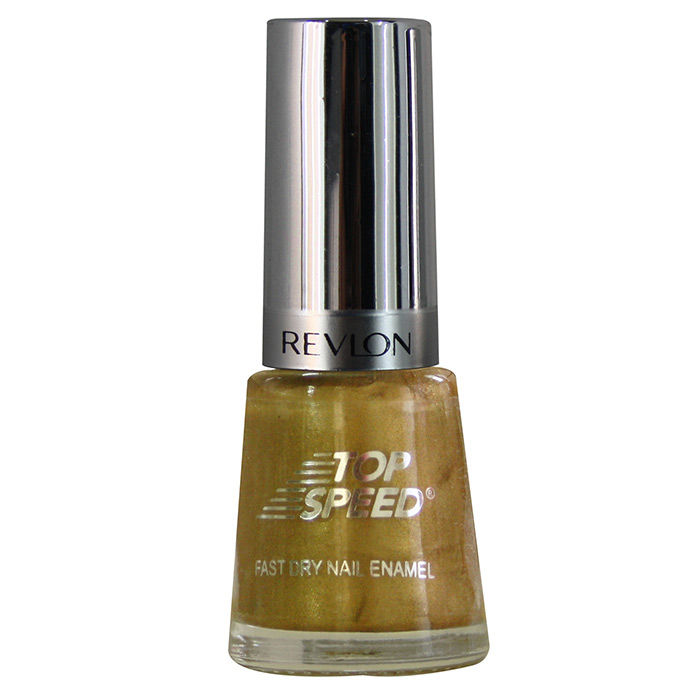 Buy Revlon Top Speed Nail Enamel Golden 8 ml-Purplle