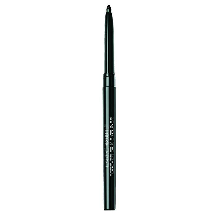Buy Lakme Absolute Forever Silk Eyeliner Black Last-Purplle