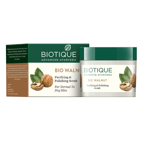 Buy Biotique Bio Walnut Purifying & Polishing Scrub (50 g)-Purplle