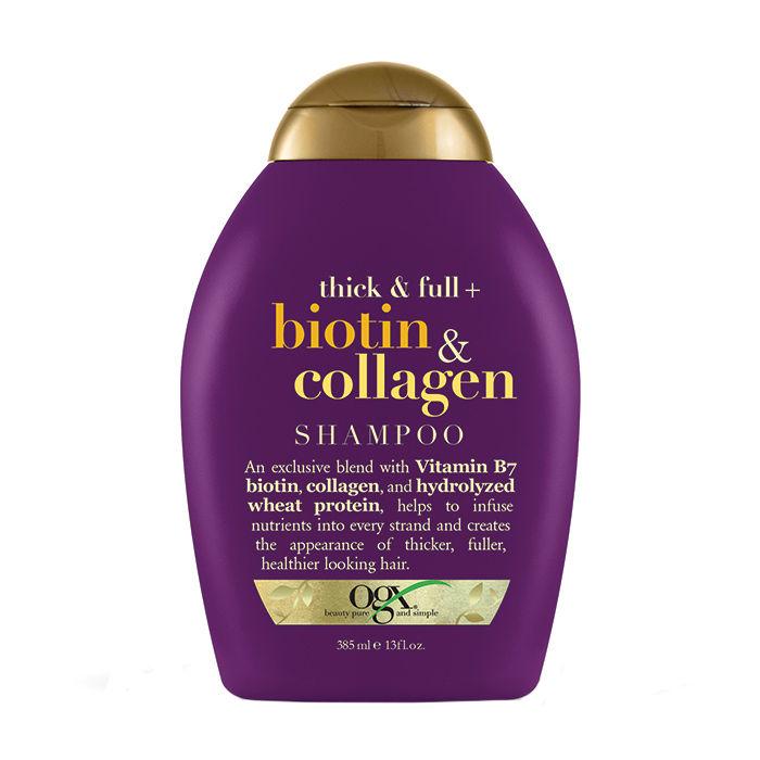 Buy OGX Thick & Full Biotin & Collagen Shampoo (385 ml)-Purplle