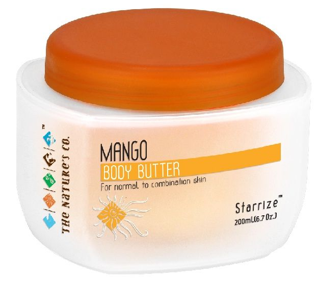 Buy The Natures Co. Mango Body Butter (200 ml)-Purplle