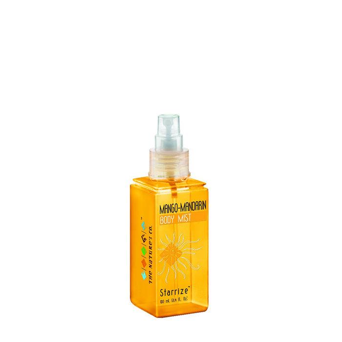 Buy The Natures Co. Mango Mandarin Body Mist (100 ml)-Purplle